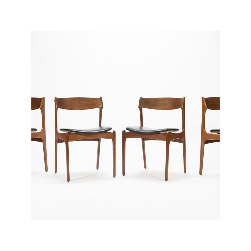 Erik Buck dining chairs model 49