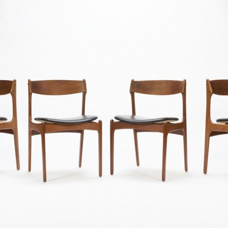 Erik Buck dining chairs model 49