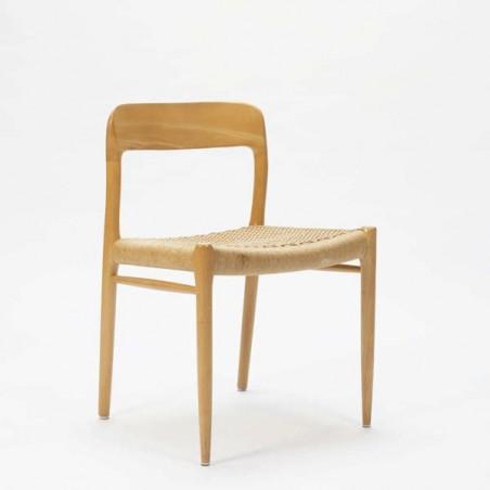 vintage Niels. O. Møller chair Model 75
