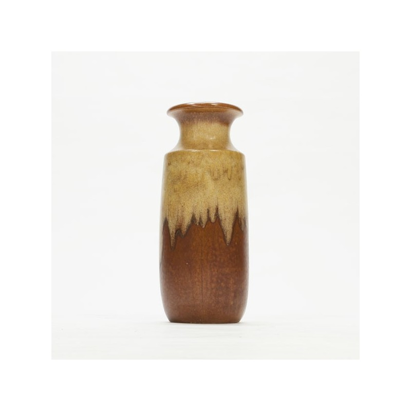 Large West-Germany vase brown tones