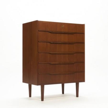 Scandianvian chest of drawers in teak