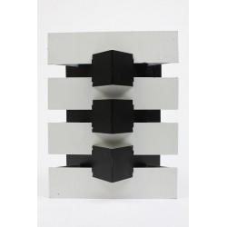 Anvia modernistische wandlamp zwart