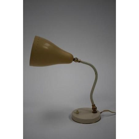 1950's table lamp cream