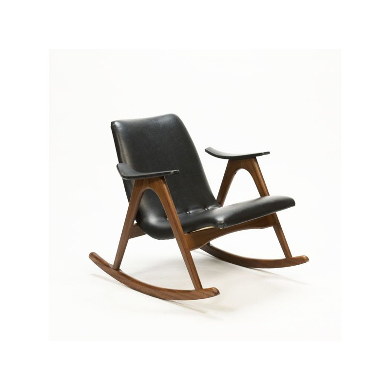 Vintage rocking chair teak