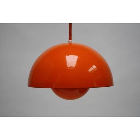 Flower Pot by Verner Panton orange