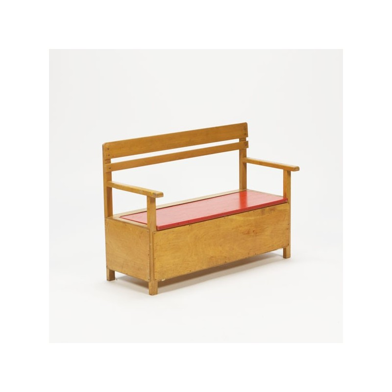 Bench for children from the 1960's