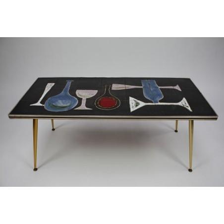 "Tile table ""Wine"""