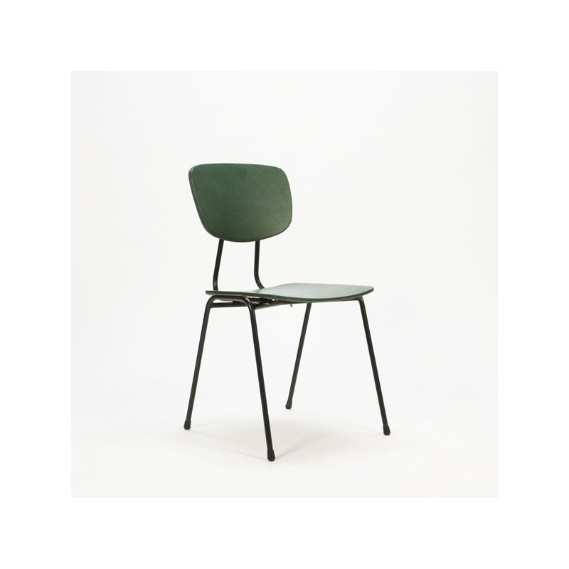 jaren 60 stoel groen retro studio