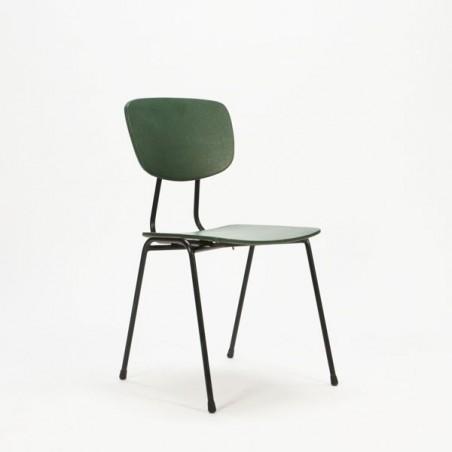 Jaren 60 stoel groen