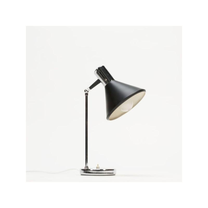Table lamp black/ chrome 1960's