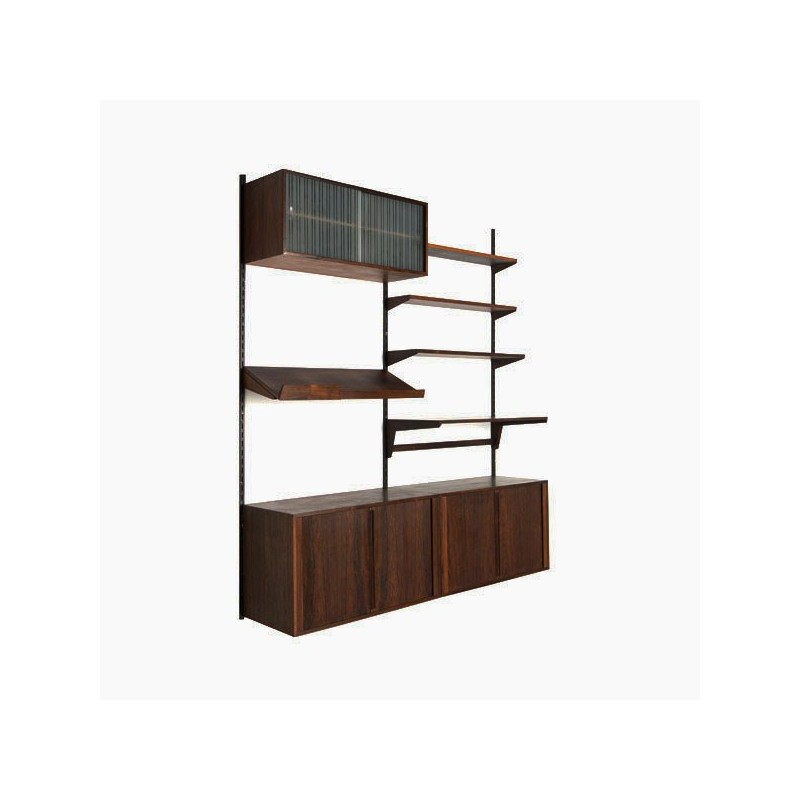 Vintage design Kai Kristiansen wall system for FM