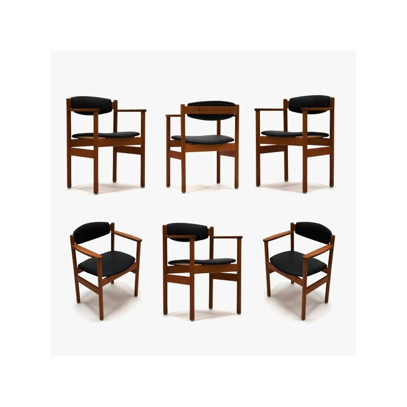 FDB Denmark chairs set of 6