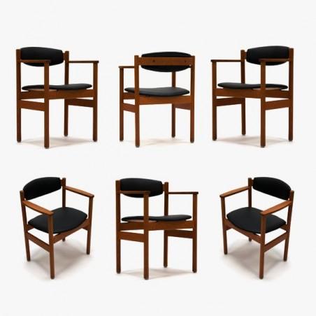 FDB Denmark stoelen set van 6