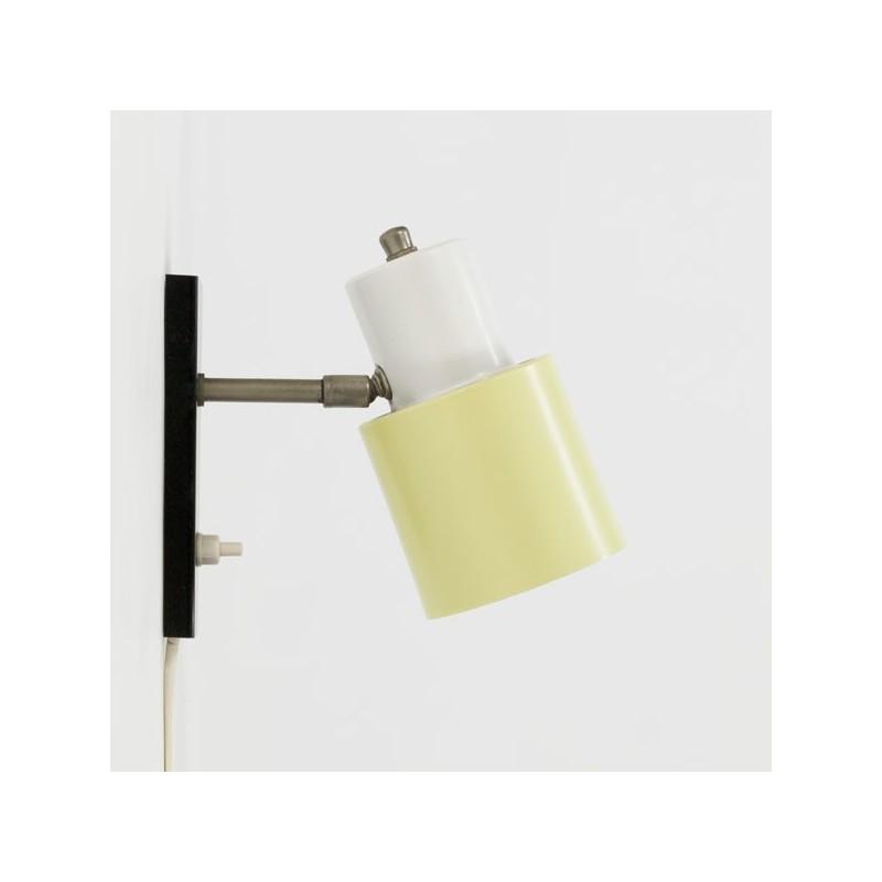 Hala wandlamp geel/ wit