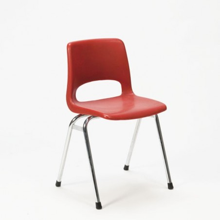 Children's chair Marko red plastic