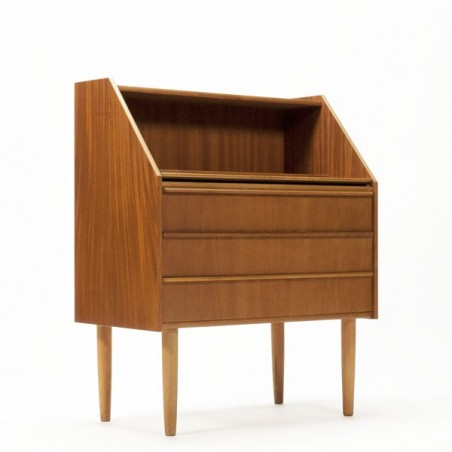 Scandinavian secretary in teak
