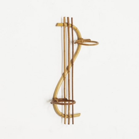 Bamboo flowerpot rack
