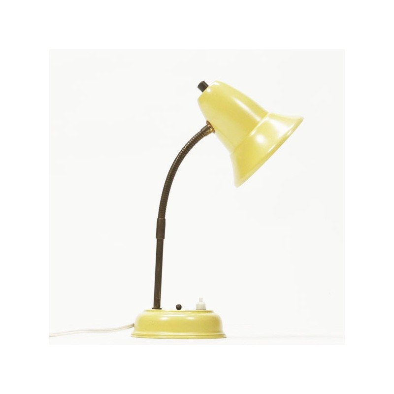 Table lamp 1960's yellow
