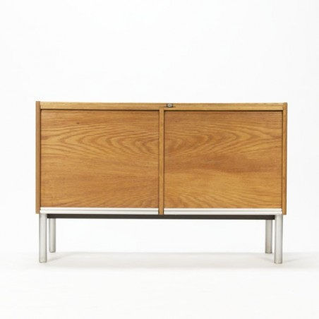 Small cabinet with role up doors