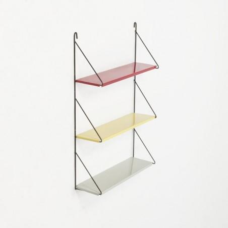 Small metal wall rack