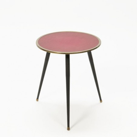 Side table 1950's round