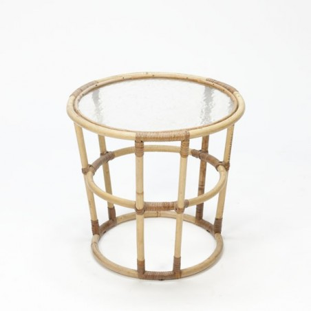 bamboo table small