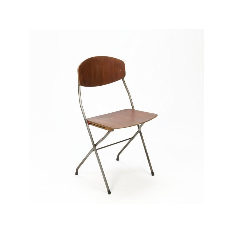 Scandinavian design folding chair