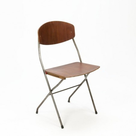 Scandinavian design folding chair