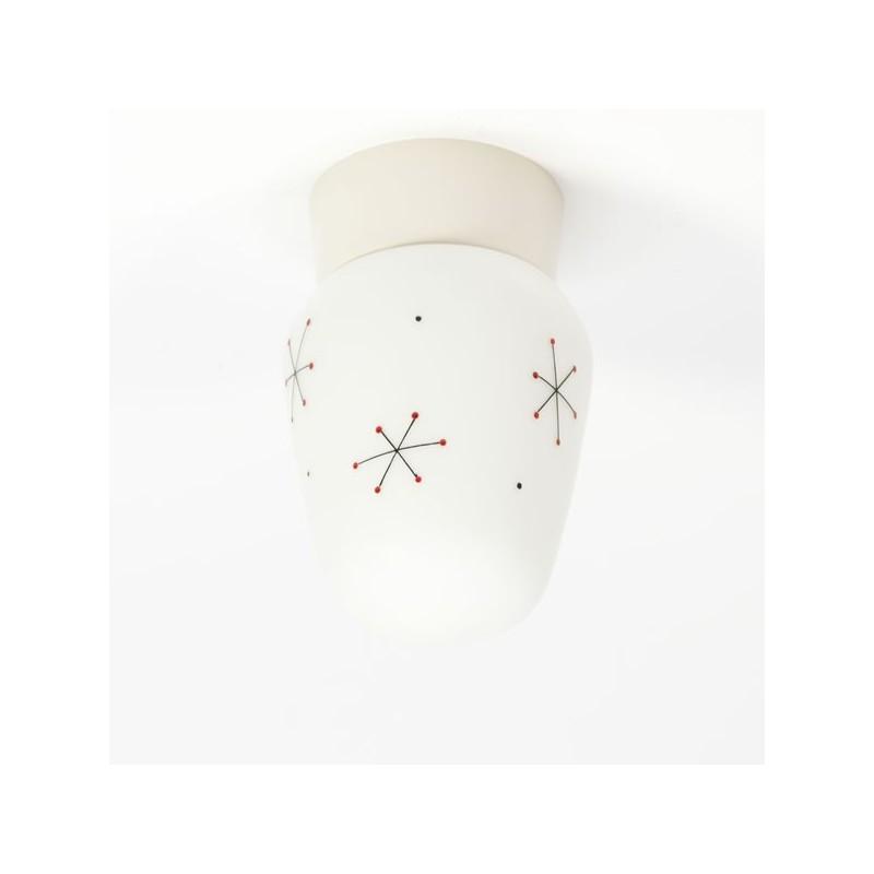 Plafondlamp jaren 50 nr.7