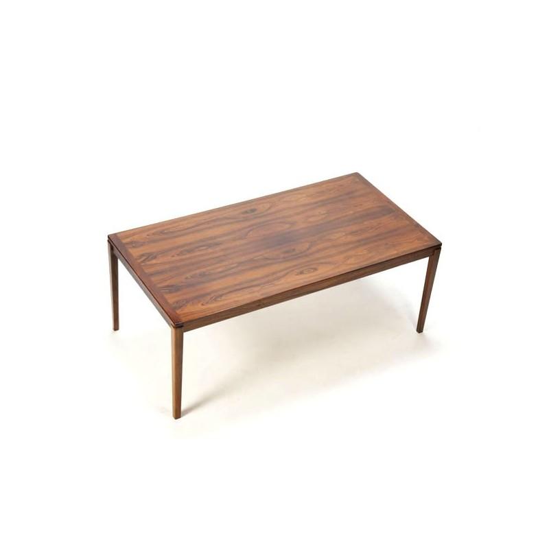 Grote palissanderhouten salontafel