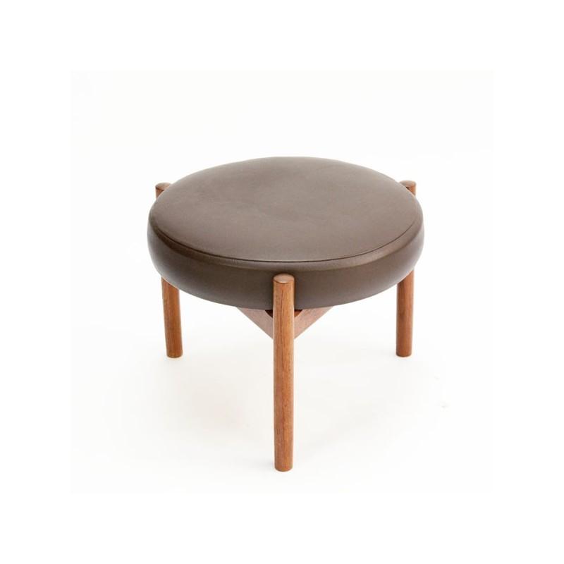 Danish stool/ ottoman by Spottrup