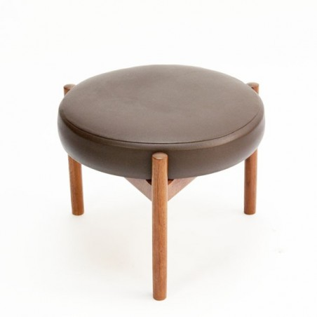 Danish stool/ ottoman by Spottrup