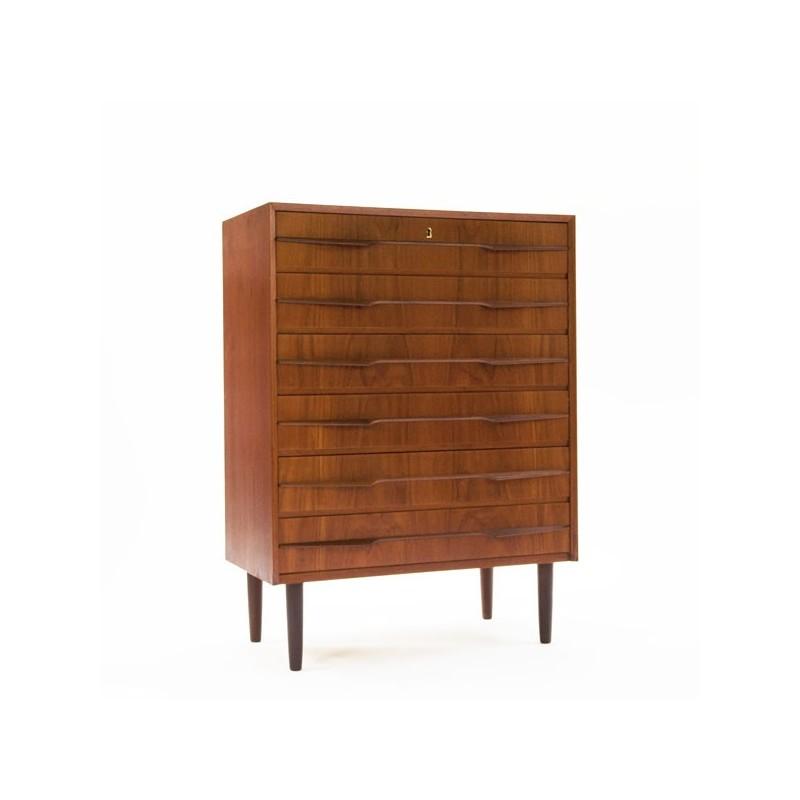 Scandinavian chest of drawers teak
