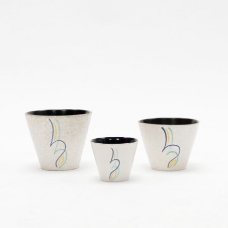 Set van 3 Adco bloempotten