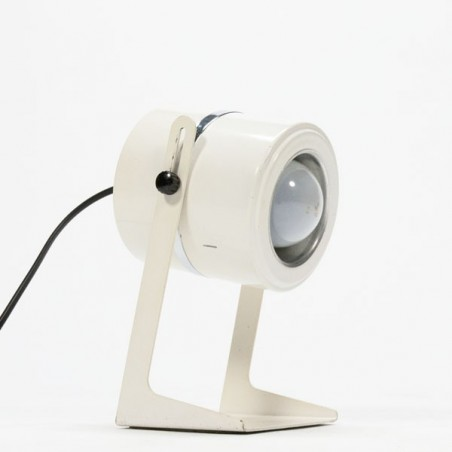 White table lamp 1970's