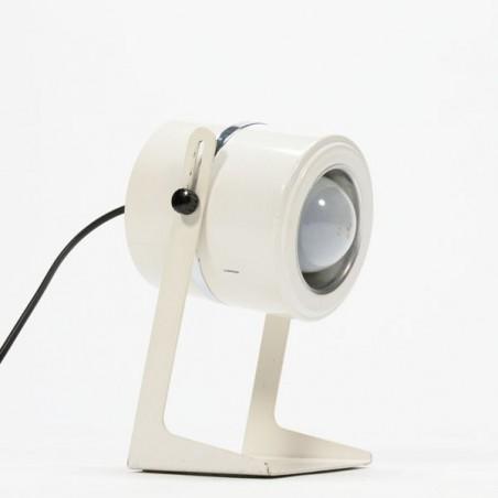 Witte tafellamp 1970's