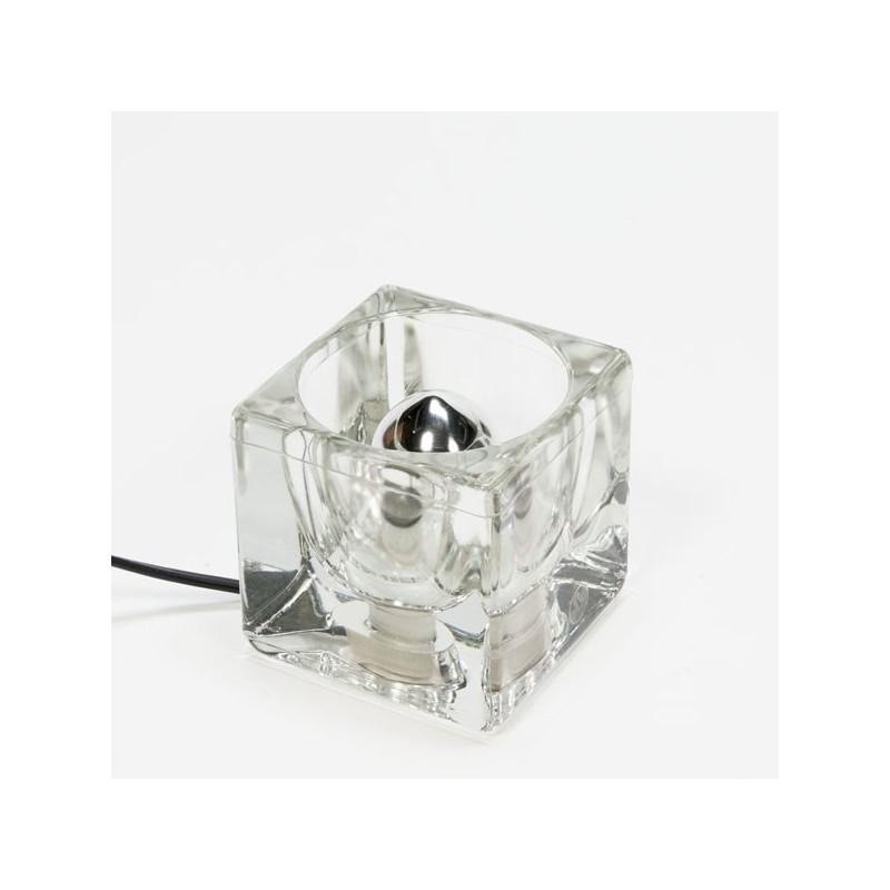 Kleine glazen Putzler tafellamp