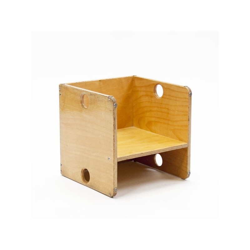 Cube chair for children