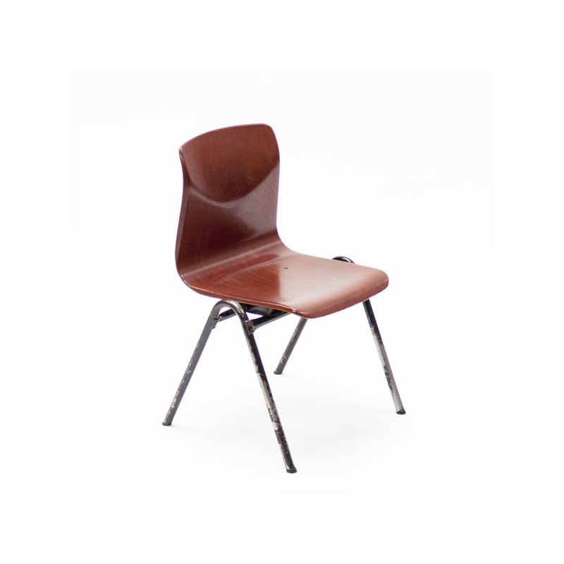Industrieel kinder stoeltje van Thur-op-seat
