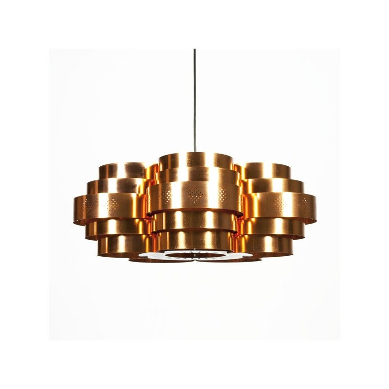 Large brass pendant by Coronell