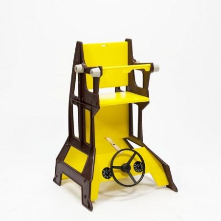 Plastic highchair 1970's