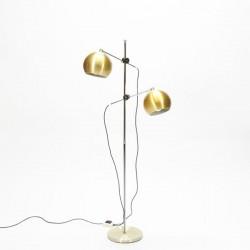 Standing floor lamp with 2 balls