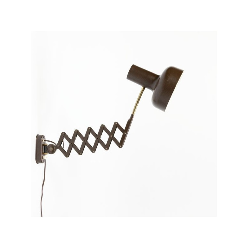 Wall lamp brown