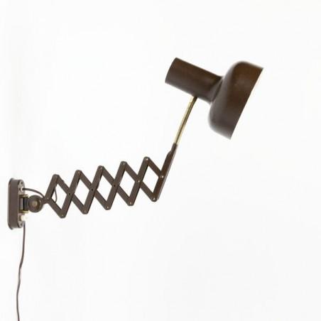 Wall lamp brown