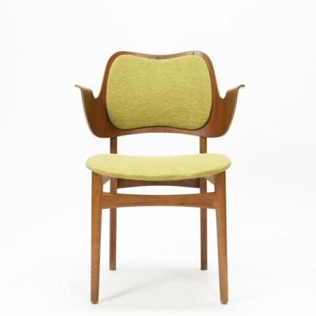 Plywood design stoel van Bramin