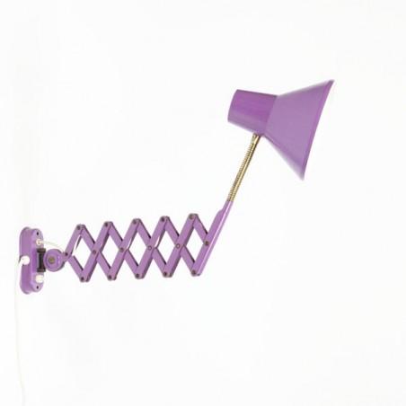 Schaarlamp paars