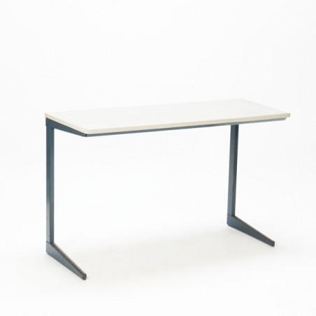 Industrial desk/ schooltable by Friso Kramer blue