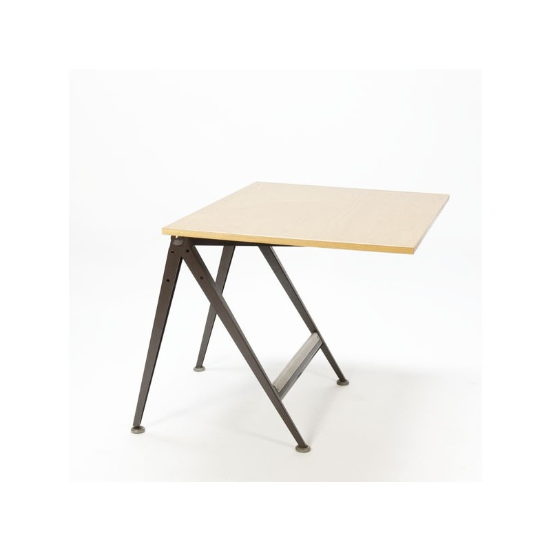 "Friso Kramer and Wim Rietveld ""Reply"" drawingtable brown"