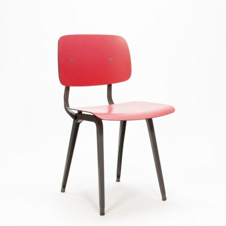 Revolt stoel rood/ zwart