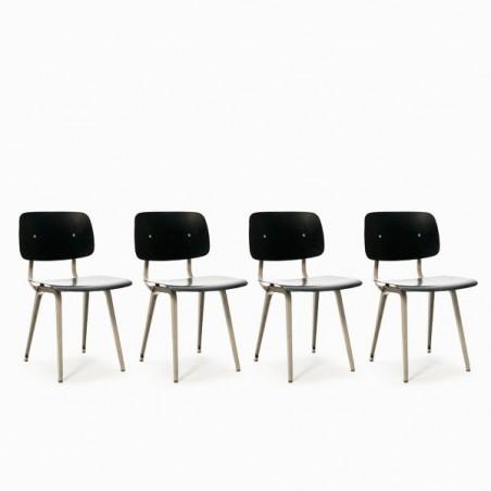 Friso Kramer Revolt stoelen set van 4